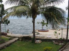 View of Lake Toba from Anju Cottages