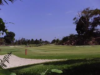 Palm Springs Golf Course in Batam