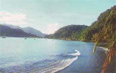 Bungus Bay north of Padang