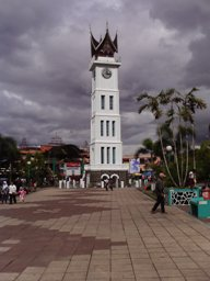 Djam gadang in the centre of Bukittingi
