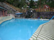 Swimming Pool at Danau Toba Berastagi