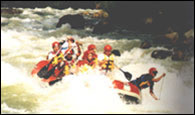 White Water Rafting in Sumatra Indonesia