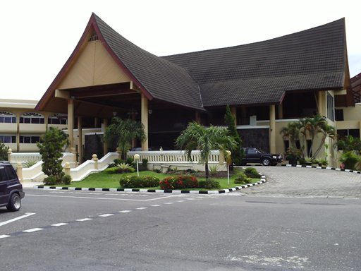 Reception at Inna Muara Hotel Padang