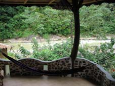 Balcony for Honeymoon Suite Jungle Inn Bukit Lawang
