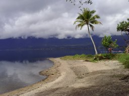 View of Lake Maninjau