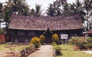 Traditional longhouse close to Bukittingi