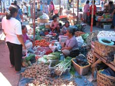 Food Markets in Parapat