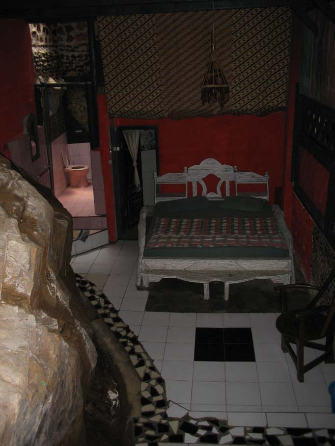 Rock room Jungle Inn Bukit Lawang