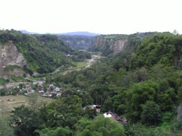 Panarama Park with view of Sianok Canyon Bukittingi
