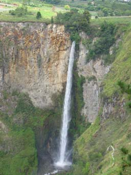 Sipiso-piso Waterfall, close to Berastagi