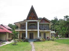 Family guesthouse at Tabo Cottages Lake Toba